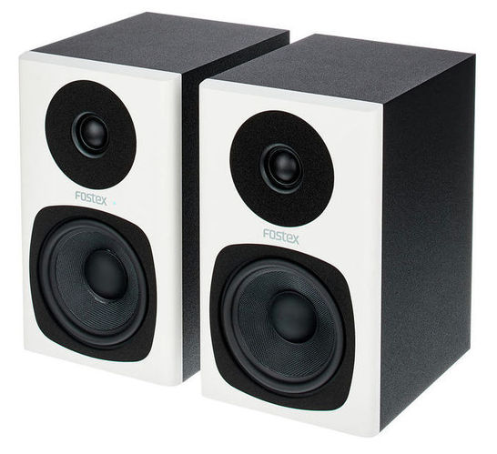 Активный студийный монитор Fostex PM0.4c white активный студийный монитор fostex 6301nd