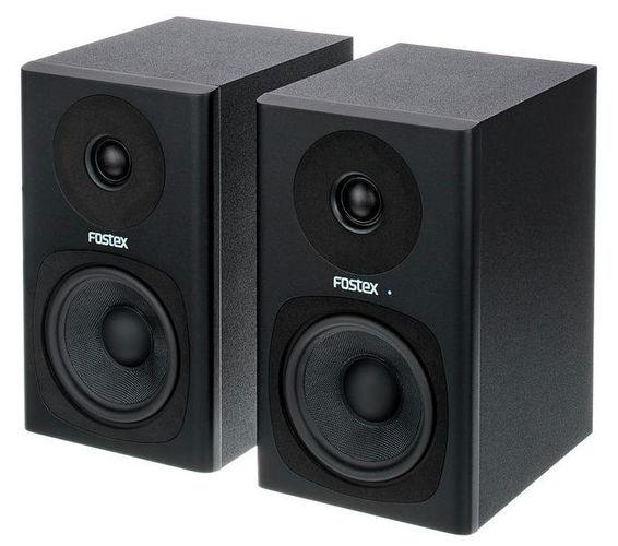 Активный студийный монитор Fostex PM0.4c black активный студийный монитор fostex 6301nd