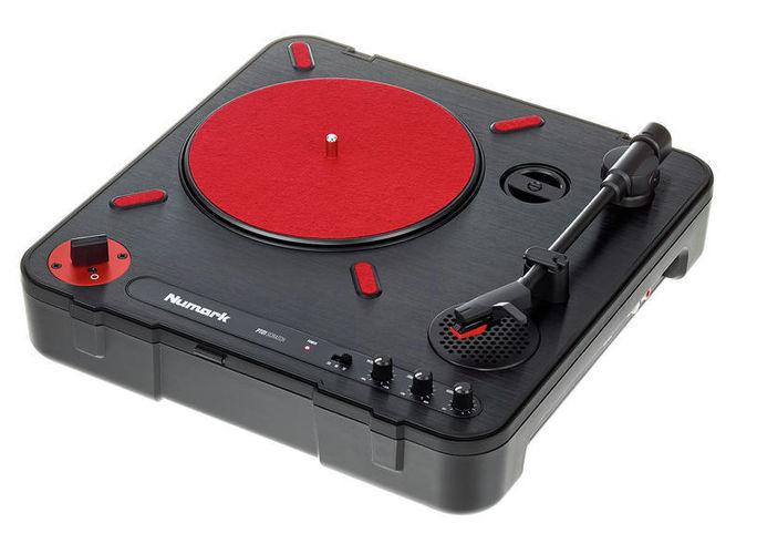 Проигрыватель винила с ременным приводом Numark PT-01 Scratch проигрыватель винила с ременным приводом audio technica at lp60bt wh