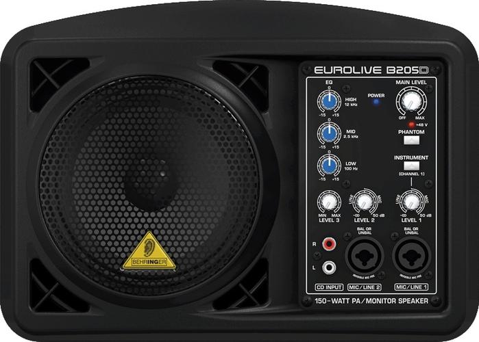 Активная акустическая система Behringer EUROLIVE B205D behringer p16 d
