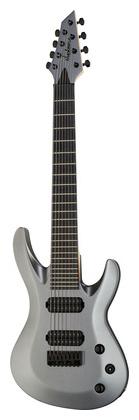 цены Электрогитара 8-струнная Jackson B8 USA Select Satin Grey