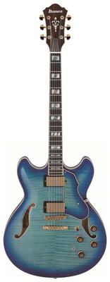 Полуакустическая гитара Ibanez AS153-JBB Artstar полуакустическая гитара gretsch brian setzer g6120 sslvo