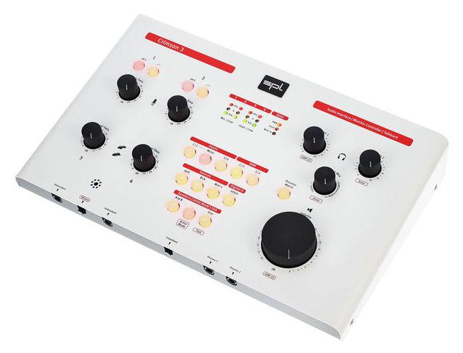 Звуковая карта внешняя SPL Crimson 3 white