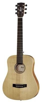 Cort Earth Mini Travel Guitar электрогитара cort x6 vpr