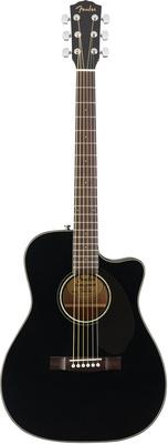Fender CC-60SCE Blk fender cc 60sce nat