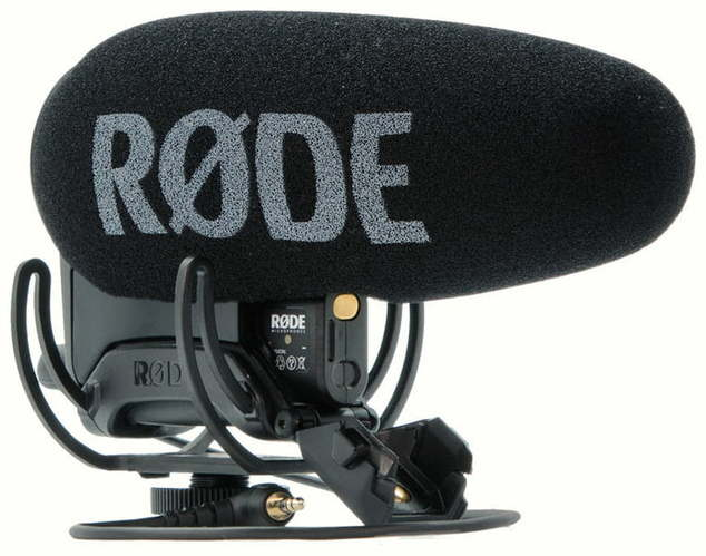 Микрофон для видеокамеры RODE VideoMic Pro+ видеокамеры