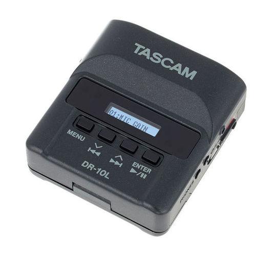 Рекордер Tascam DR-10 L профессиональный рекордер tascam md cd1 mkiii