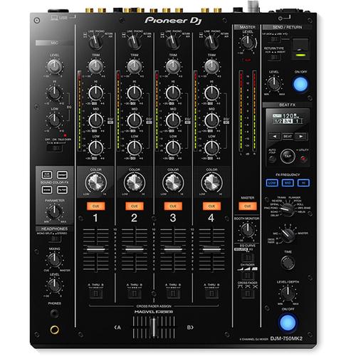 DJ оборудование Pioneer DJM-750MK2 dj оборудование в россии недорого