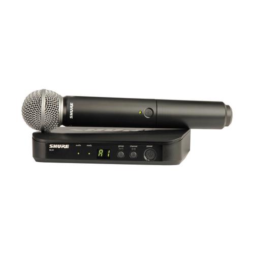 Готовый комплект радиосистемы Shure BLX24E/PG58 M17 готовый комплект радиосистемы shure blx24e sm58 m17