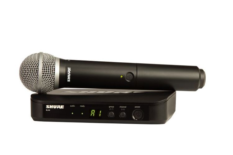 Готовый комплект радиосистемы Shure BLX24RE/B58 M17 shure blx24re b58 m17