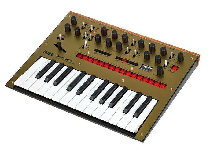 Синтезатор Korg Monologue GD синтезатор korg monologue gold