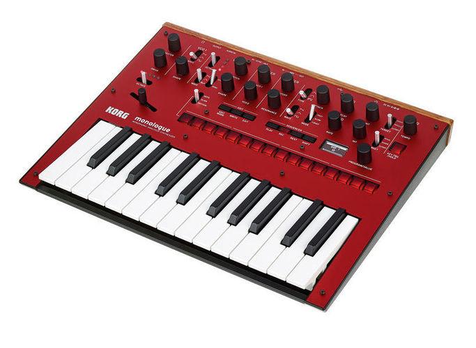 Синтезатор Korg Monologue RD синтезатор korg kronos2 73