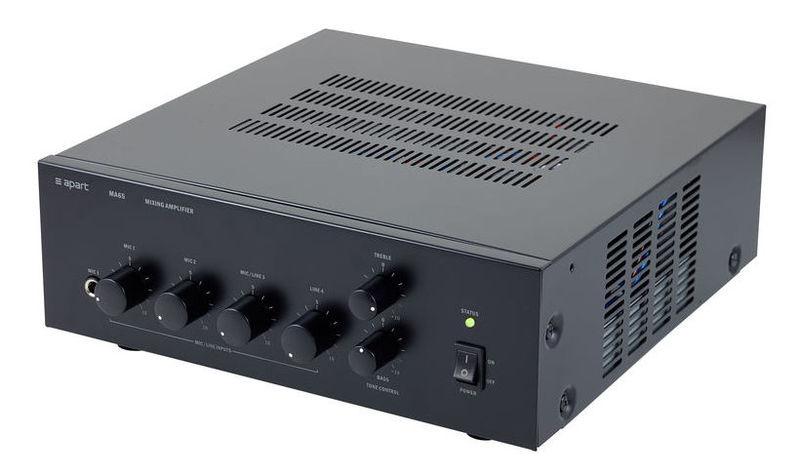 Микшер с усилением APart MA65 трансляционный усилитель apart revamp2060t
