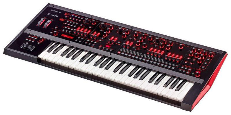 Синтезатор и звуковой модуль Roland JD-XA внешний звуковой модуль егерь авзм без кабеля