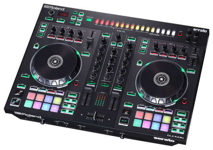 MIDI, Dj контроллер Roland DJ-505 dj оборудование в россии недорого