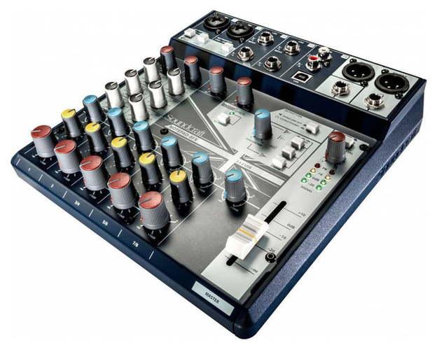 Аналоговый микшер Soundcraft Notepad-8FX