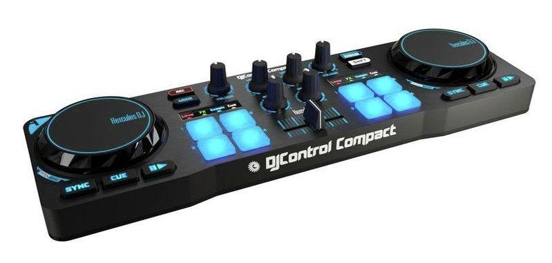 MIDI, Dj контроллер Hercules DJControl Compact hercules djcontrol compact