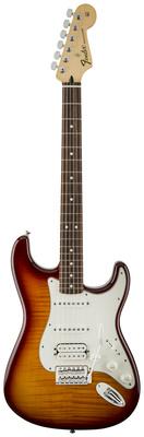 Стратокастер Fender HSS Strat PlusTop PF TBS стратокастер fender standard strat mn lpb