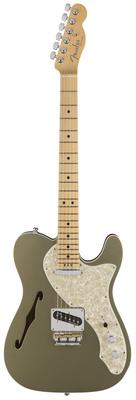 Полуакустическая гитара Fender AM Elite Tele Thinline MN CHAM телекастер fender am elite tele thinline mn nat