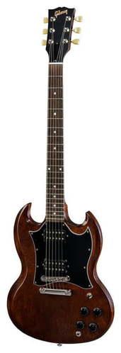 Электрогитара с двумя вырезами Gibson SG Faded 2018 WB gibson sg faded hp 2017 worn cherry