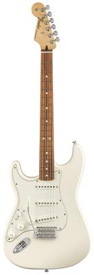 Гитара для левшей Fender Standard Strat PF AWT LH стратокастер fender standard strat mn lpb