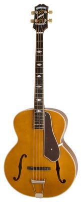 4-струнная полуакустическая бас-гитара Epiphone Masterbilt De Luxe Bass VN 5 струнная бас гитара esp ltd f 5e ns