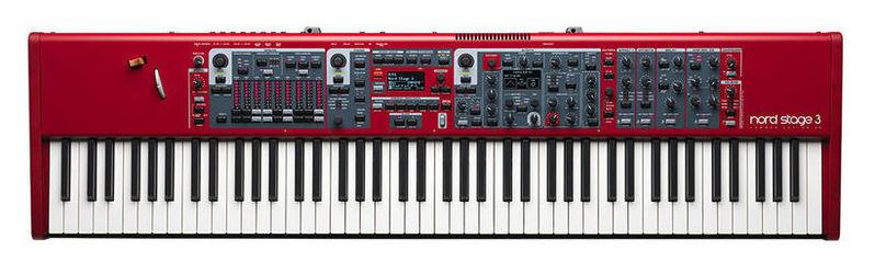 Сценическое фортепиано Clavia Stage 3 88 midi клавиатура 88 клавиш miditech i2 stage 88