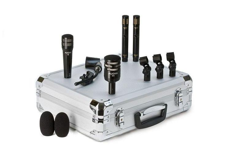Микрофон для ударных инструментов AUDIX DP-Quad микрофон для ударных инструментов akg c518m