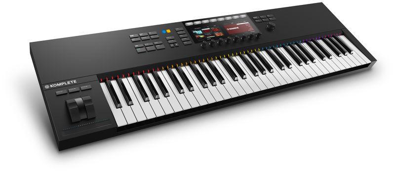 MIDI-клавиатура 61 клавиша Native Instruments Komplete Kontrol S61 MK2 midi клавиатура 49 клавиш native instruments komplete kontrol s49 mk2