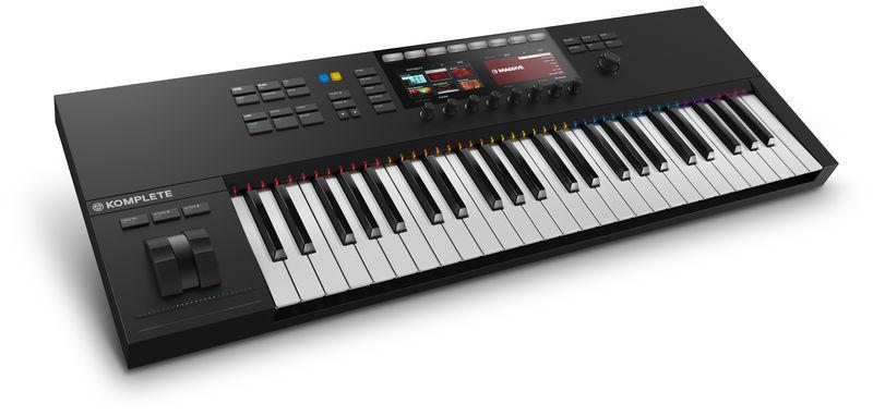 MIDI-клавиатура 49 клавиш Native Instruments Komplete Kontrol S49 MK2 midi клавиатура 49 клавиш native instruments komplete kontrol s49 mk2