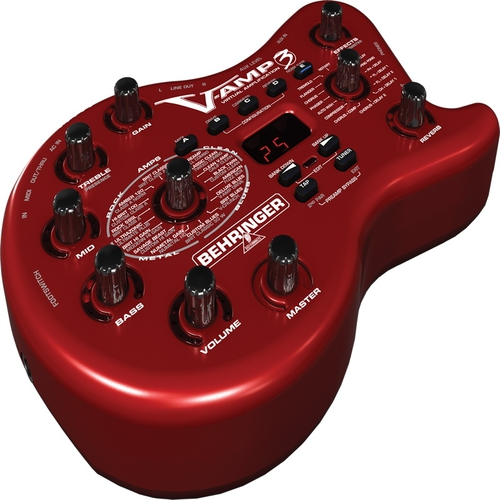 Гитарный процессор для электрогитары Behringer V-AMP3 behringer di400p