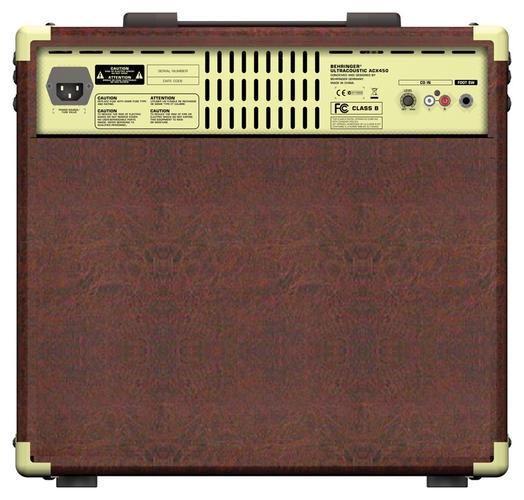 Усилитель для акустической гитар Behringer ULTRACOUSTIC ACX450 профессиональный усилитель мощности behringer inuke nu12000