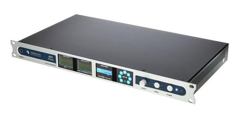 ЦАП-АЦП конвертер Ferrofish A32 Dante цап ацп конвертер benchmark dac3 hgc b