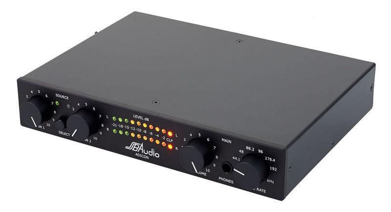 ЦАП-АЦП конвертер SSB Audio Adicon Black MM цап ацп конвертер benchmark dac3 hgc b
