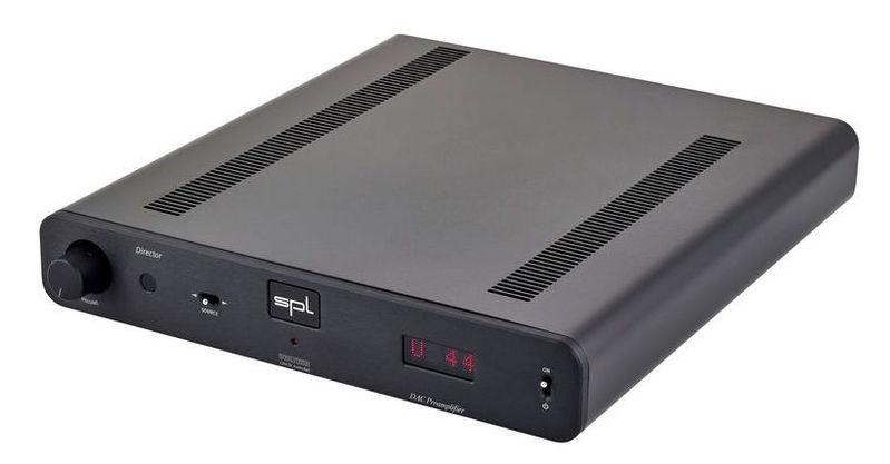 ЦАП-АЦП конвертер SPL Pro-Fi Director black цап ацп конвертер benchmark dac3 hgc b