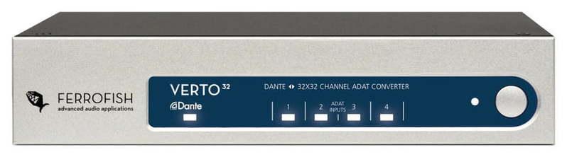 ЦАП-АЦП конвертер Ferrofish Verto 32 цап ацп конвертер benchmark dac3 hgc b