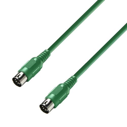 Midi кабель Adam Hall Cables K3 MIDI 0150 GRN сабвуфер adam sub12