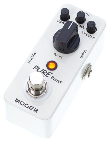 Моделирующая и специальная педаль эффектов Mooer Pure Boost педаль эффектов roland gk 3