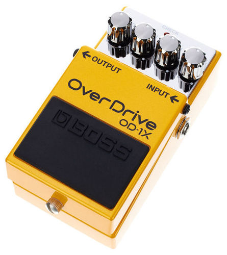 Педаль Overdrive и Distortion Boss OD-1X Overdrive педаль эффектов boss cp 1x