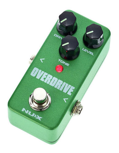 Педаль Overdrive и Distortion Nux Mini Core SE Overdrive педаль overdrive и distortion ibanez ts mini