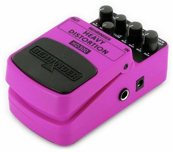 Педаль Overdrive и Distortion Behringer HD300 Heavy Distortion behringer 802