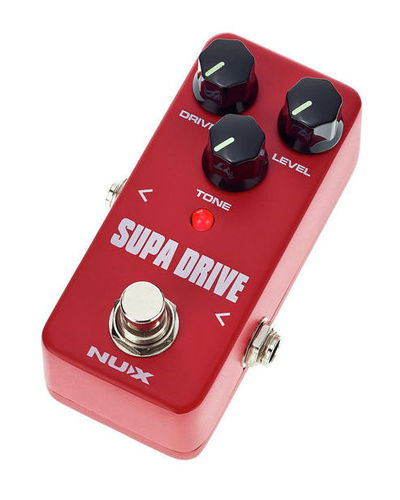 Педаль Overdrive и Distortion Nux Mini Core SE Supa Drive педаль overdrive и distortion ibanez ts mini