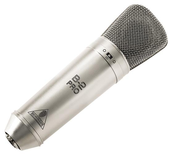 Микрофон с большой мембраной для студии Behringer B-2 PRO студийный микрофон behringer b 5