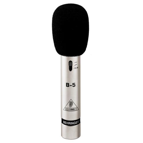 Микрофон с маленькой мембраной Behringer B-5 микшерный пульт с усилением behringer pmp580s europower