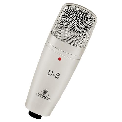 Микрофон с большой мембраной для студии Behringer C-3 студийный микрофон behringer b 5