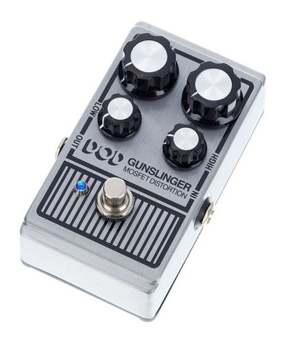 Педаль Overdrive и Distortion DigiTech DOD Gunslinger Distortion педаль overdrive и distortion ibanez ts mini