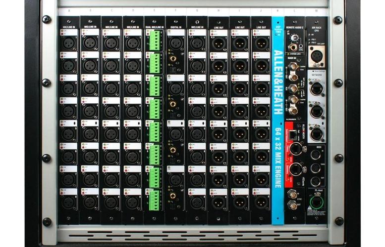 Цифровой микшер Allen & Heath iDR10F цифровой микшерный пульт allen
