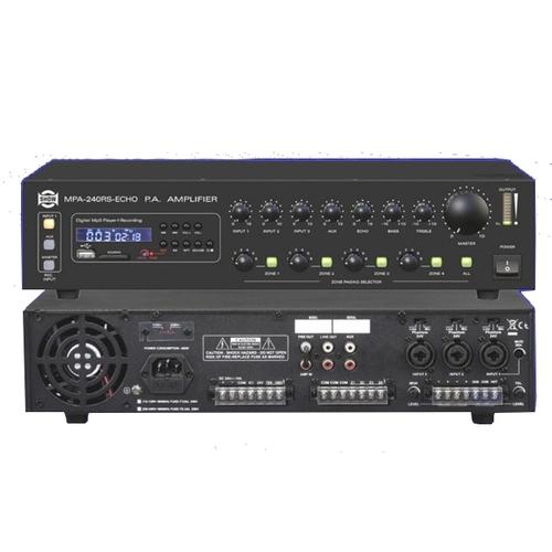 Трансляционный усилитель SHOW MPA240RS усилитель мощности 850 2000 вт 4 ом behringer europower ep4000