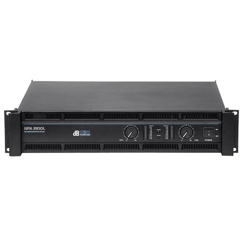 Усилитель мощности 850 - 2000 Вт (4 Ом) dB Technologies HPA3100L профессиональный усилитель мощности eurosound xz 1200
