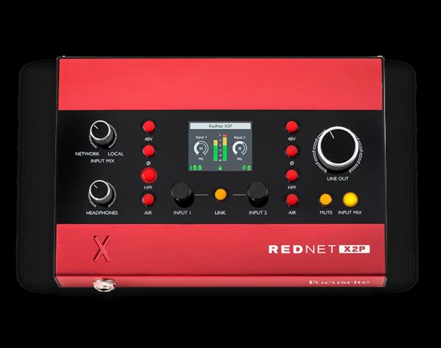 Звуковая карта внешняя Focusrite RedNet X2P